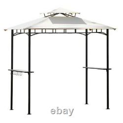 Outdoor Barbecue Grill Gazebo Canopy Tent Patio BBQ Shelter WithAir Vent 99.6'