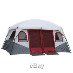 Outdoor Camping Tent Family Big Party Tent Waterproof Cabin Camp Marquee Anti UV