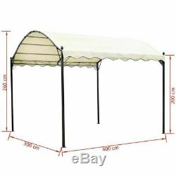 Outdoor Canopy Gazebo Patio Carport Garage Car Shelter Yard BBQ Party Tent Shed