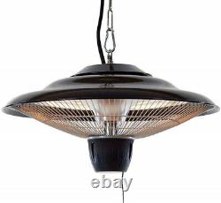 Outdoor Ceiling Heater 1500 Infrared Gazebo Patio Heat Radiator CE, IP44