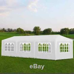 Outdoor Garden Wedding Party Tent 10x30 Gazebo Canopy Heavy Duty 8 Walls