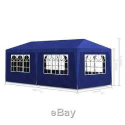 Outdoor Gazebo Canopy 10'x20' Party Tent Event Tent Wedding Party Garden BBQ Ten