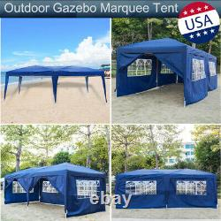 Outdoor Gazebo Marquee Party Tent Wedding Event Garden Yard Awning Canopy Pagoda