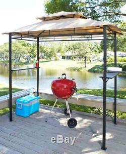 Outdoor Grill BBQ Grill Cover Gazebo Patio Garden Poolside Lake Home Canopy Lawn