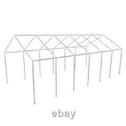 Outdoor Party Tent Steel 20x40 White Wedding Removable Walls Gazebo Tents