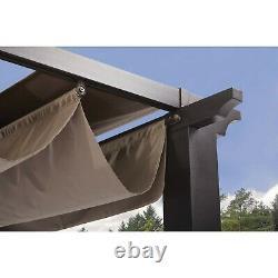 Outdoor Patio Gazebo Pergola 9'x9' Canopy Party BBQ Garden Steel Yard Camping