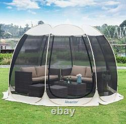 Outdoor screen house Room Tent Canopy Gazebos Instant Pop Up Family Time Summer