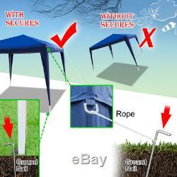 Party Tent 10'x20' Blue Outdoor Garden Wedding Patio Gazebo Canopy Waterproof
