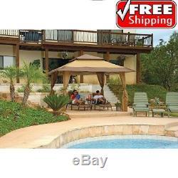 Patio Gazebo Canopy Tent 13x13 Outdoor Yard Picnic Garden Sun Shade Shelter BBQ
