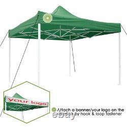 Pop Up Canopy Heavy Duty Party Wedding Tent Outdoor Patio Gazebo Event Sun Shade