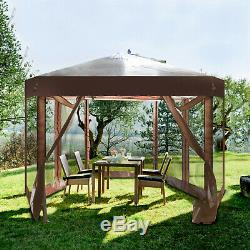 Pop Up Gazebo Tent Outdoor Patio Deck And Backyard Canopy Shelter Picnic Bbq