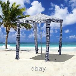 Portable Beach Cabana Tent Sun Shelter 180cm UPF50 Carry Bag Park Outdoor