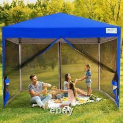 Quictent 10'x10' Commercial Ez Pop UP Canopy Outdoor Party Tent Folding Gazebo