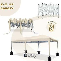Quictent 10'x20' Pop up Canopy Tent Outdoor Event Gazebo Party Shelter -3 Colors