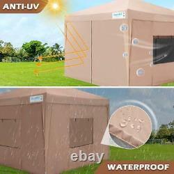 Quictent EZ Pop Up Canopy Outdoor 10x10 Portable Folding Tent Gazebo Shelter US
