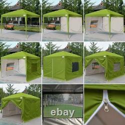 Quictent Ez Pop Up Canopy 10x10 Party Tent Outdoor Shelter Wedding Patio Gazebo