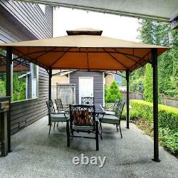 Quictent Outdoor 10x10ft Awning Canopy Patio Gazebo Shade BBQ Party Tent Shelter