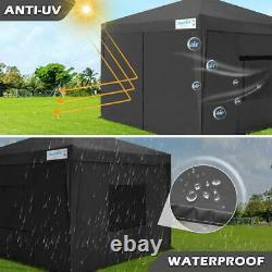 Quictent Outdoor EZ Pop Up Party Wedding Canopy 10'X10' Folding Gazebo Tent US