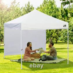 Red 10x10 Smart Pop Up Canopy Outdoor Event Craft Show Gazebo Party Tent