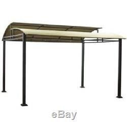 Steel Frame Pergola Canopy Gazebo 12' X 10' Outdoor Backyard Lawn Deck Sawyer