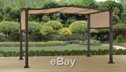 Steel Pergola Outdoor 12' x 10' Patio Shelter Sunshade Better Homes and Gardens