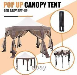 VILOBOS Garden Pop up Gazebo Outdoor Fold Party Wedding Tent Patio Canopy Awning