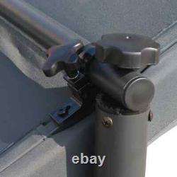 VidaXL Outdoor Pergola Gazebo Backyard Canopy Cover Adjustable Sunshade 137.7 A