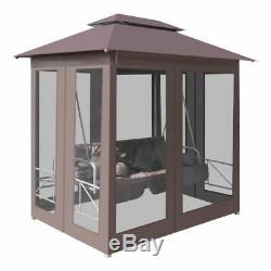 VidaXL Patio Gazebo Swing Chair Garden Outdoor Porch Seat Hammock 2 Colors