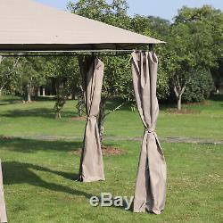 XL Outdoor Gazebo Steel DIY Kit Outdoor Patio Pavilion Heavy Duty Canopy Tent 13